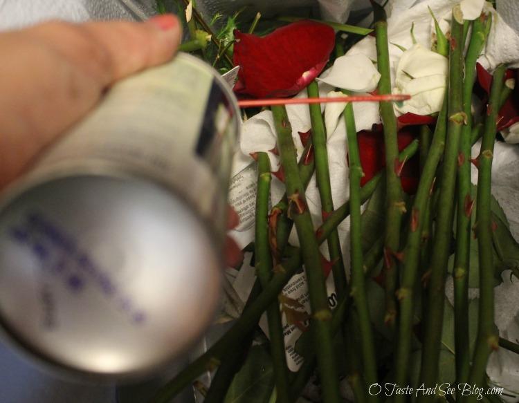 DIY Bridal Bouquet #ad #DIYWedding