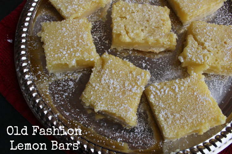 Old Fashion Lemon Bars