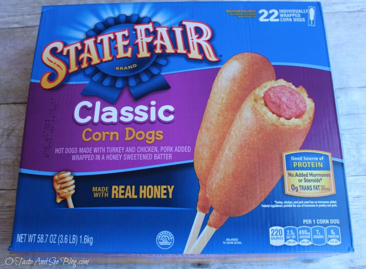 State Fair Corn Dogs and Awesome Sauces #ad