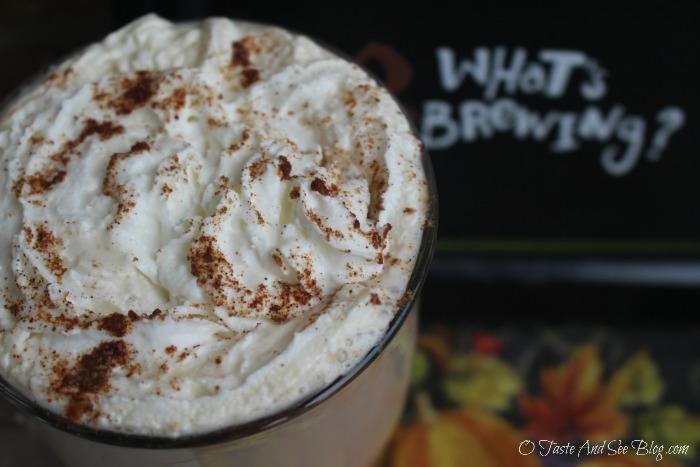 Pumpkin Spice Latte #OrganicStevia #InTheRaw #ad