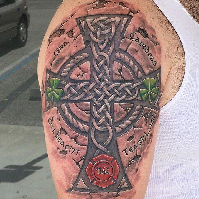 последнее кельтская связка на плече с крестом фото порой бьют