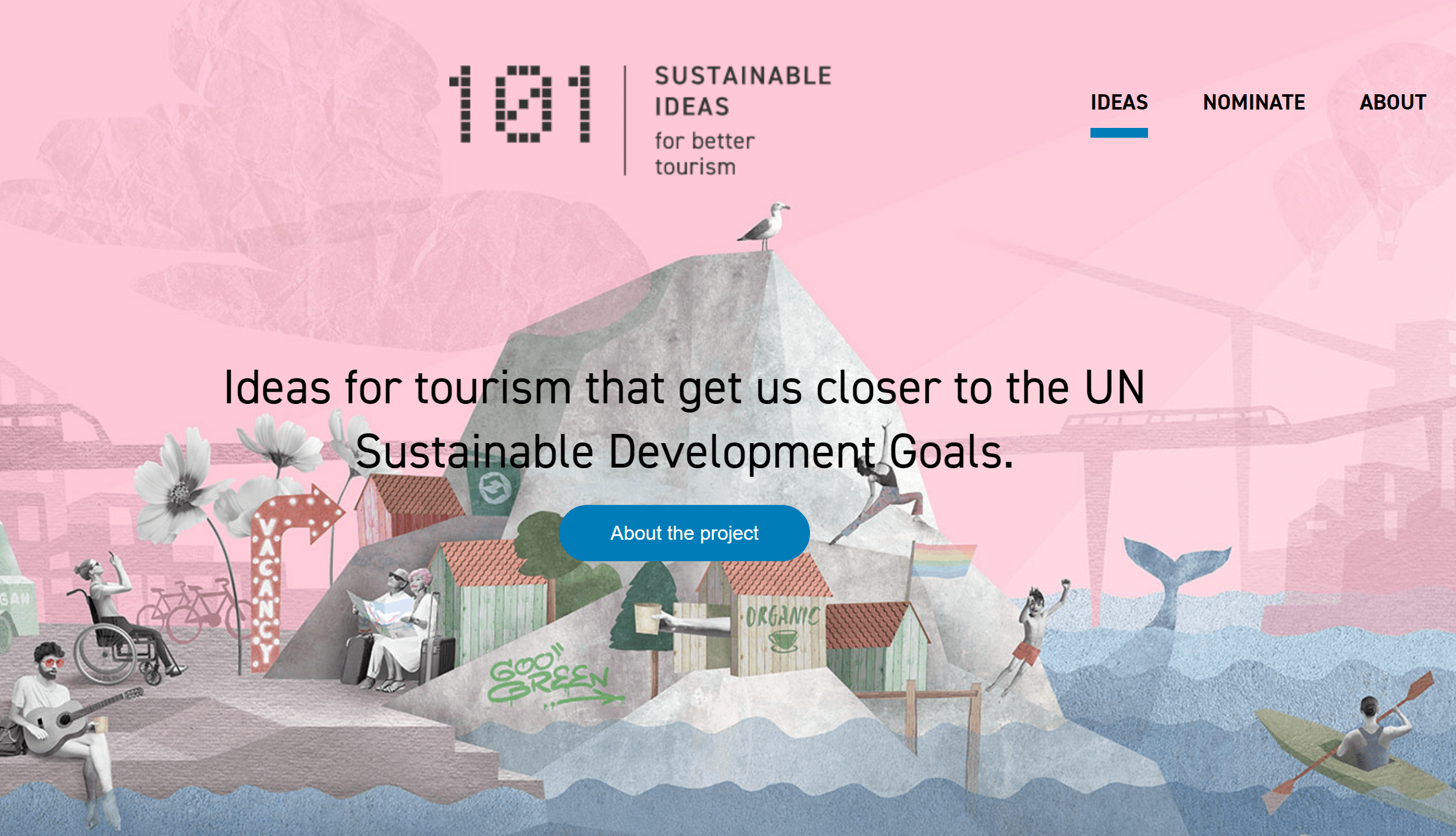 101 sustainable ideas for better tourism