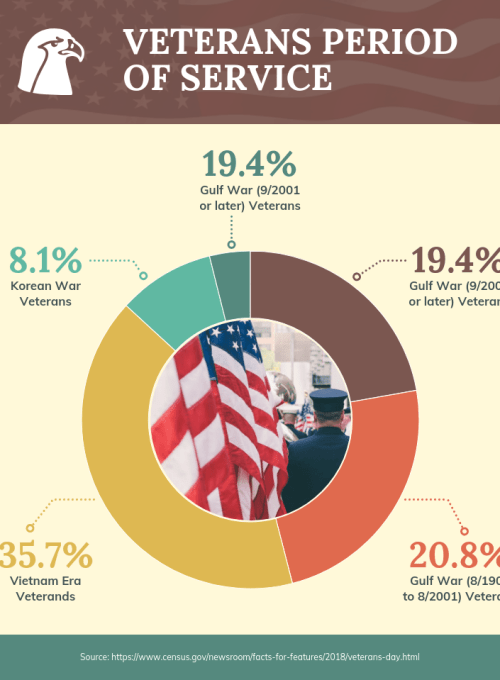 veterans us infographie