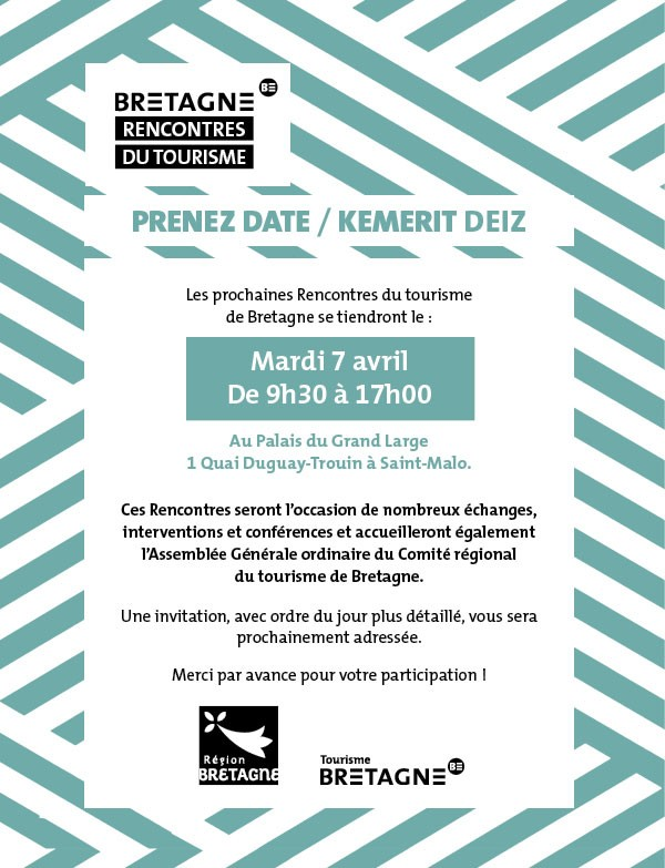 20200407 Rencontres du tourisme Save the date