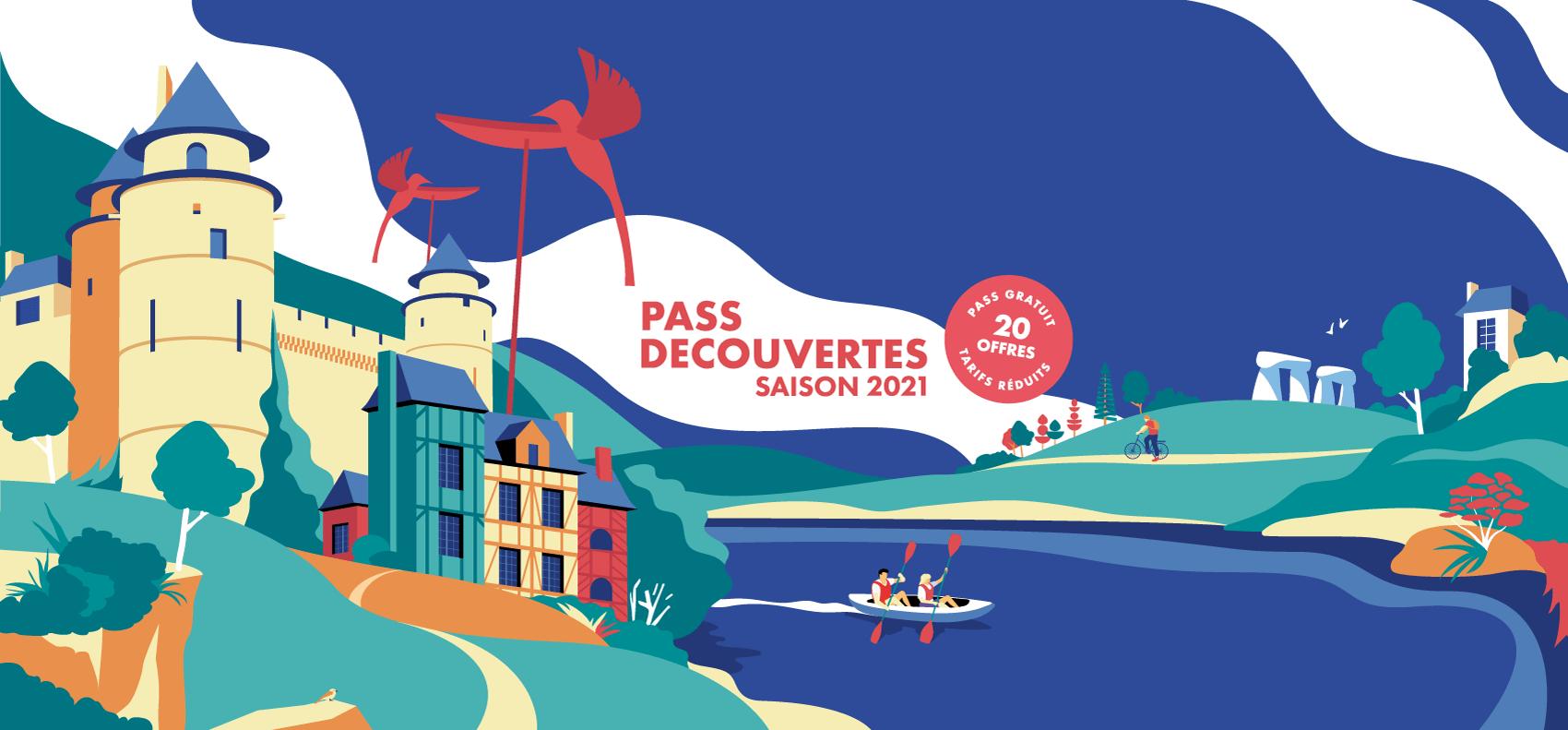 Pass Découvertes Rennes et les Portes de Bretagne - Saison 2021