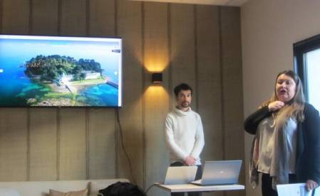 Présentation du nouveau site internet de l'office de tourisme de Douarnenez