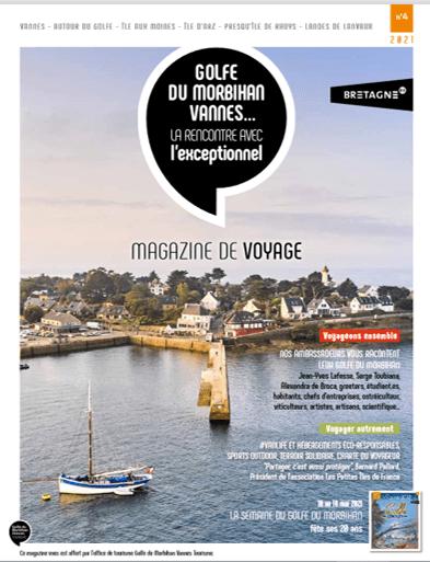 MAgazine Golfe du Morbihan Vannes Tourisme