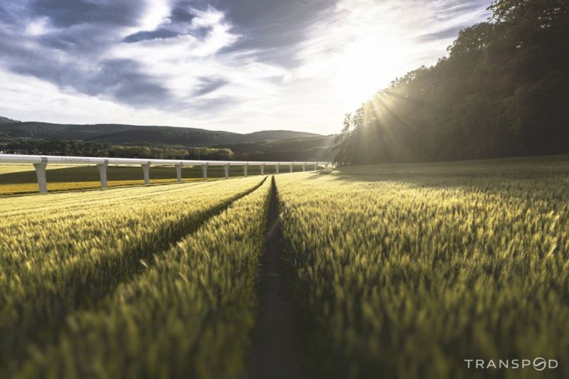 Transpod hyperloop realite 2040