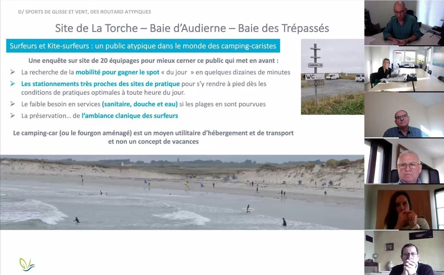 Schéma d'accueil des camping-cars en Cornouaille : Le tourisme en camping-car se réorganise en Cornouaille
