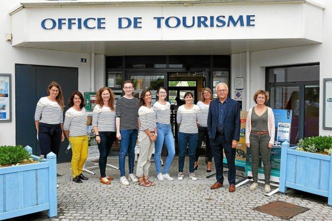l equipe de l office de tourisme fouesnantais