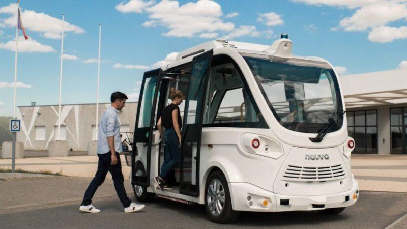 navettes sans chauffeur navya atteinte autonomie niveau 4 1024x576 1