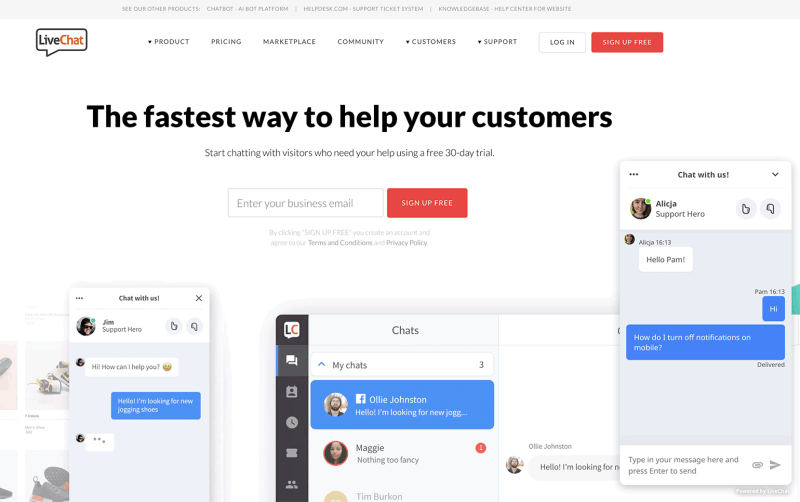 the fastest way you help your customer
