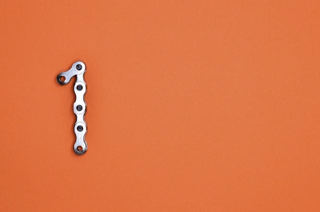 1 in bike chain