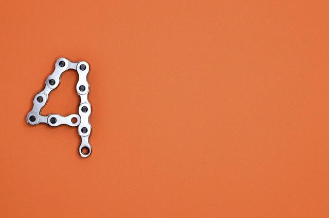 4 in bike chain