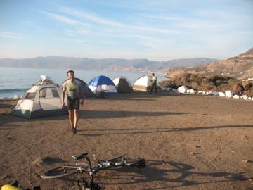 Ensenada campsite