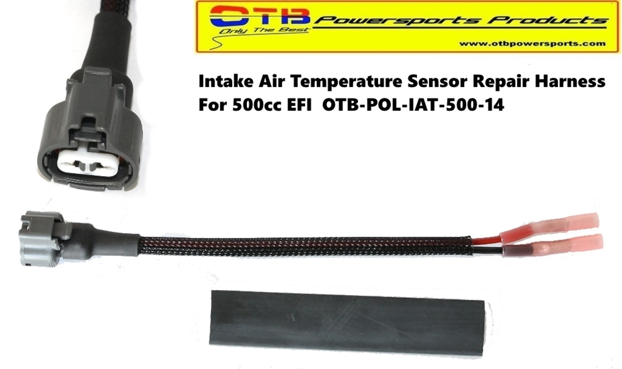 Intake Air Temp Sensor Repair Harness 500cc Otb Powersports Productsrhotbpowersports: 2007 Polaris Sportsman 500 Efi Wiring Harness At Gmaili.net