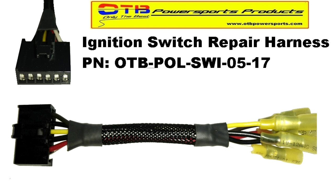 ignition switch repair harness  ignition switch 570 sportsman polaris