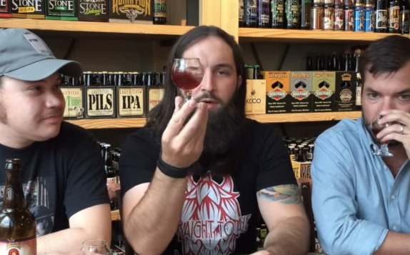 Video Blog: Founders Blushing Monk