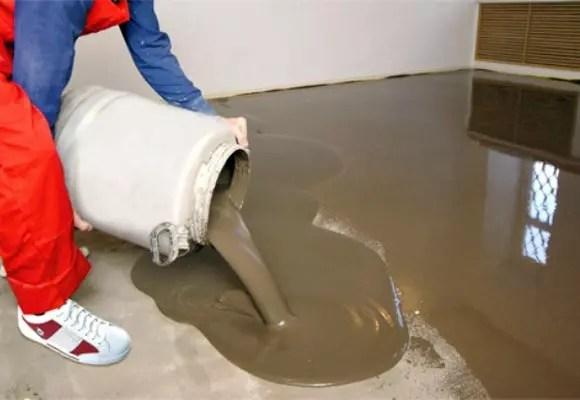 Как сделать смесь для бетонного пола цементный раствор mapei mapefill
