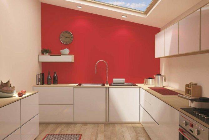 покраска на кухне