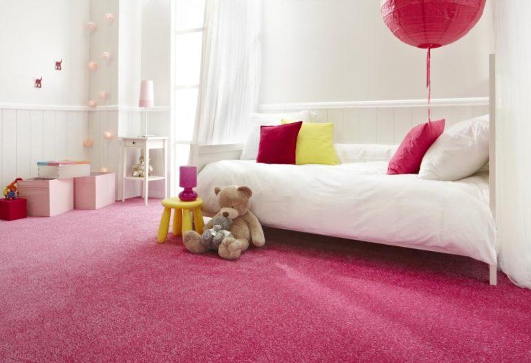 ковролин на полу в детской
