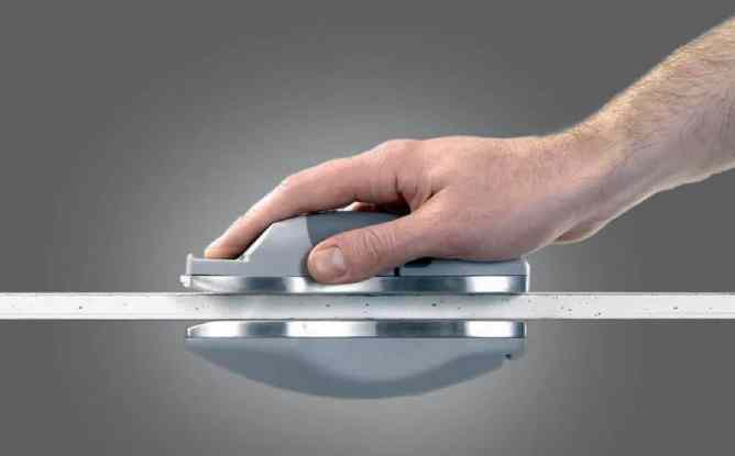 резка гипсокартона магнитным ножом