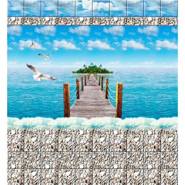 """Панели ПВХ """"Море 2"""""""