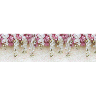 "Фартук для кухни из ABS пластика ""Цветущие орхидеи"""
