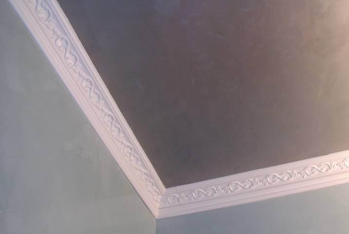 Пенопластовый потолочный багет