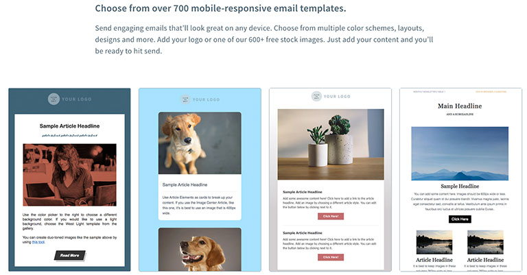 aweber email service templates