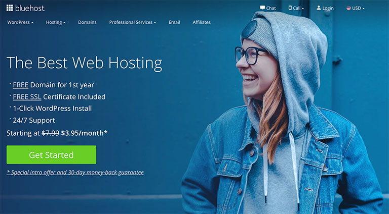 hosting bluehost - affiliate programs