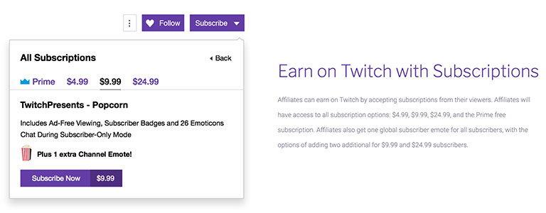 twitch affiliate program