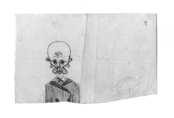 Рисунок М.А. Чехова. РГАЛИ