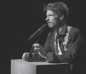 Казимир Лиске в «Иллюзиях» Ивана Вырыпаева, театр «Практика», 2011