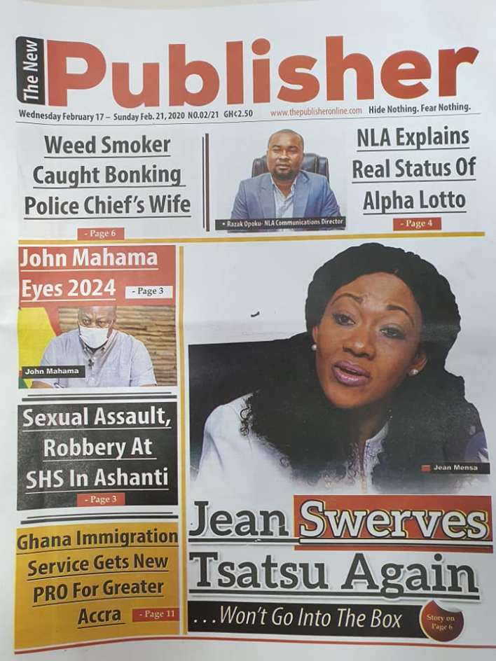 Newspaper headlines of Wednesday, February 17, 2021 83