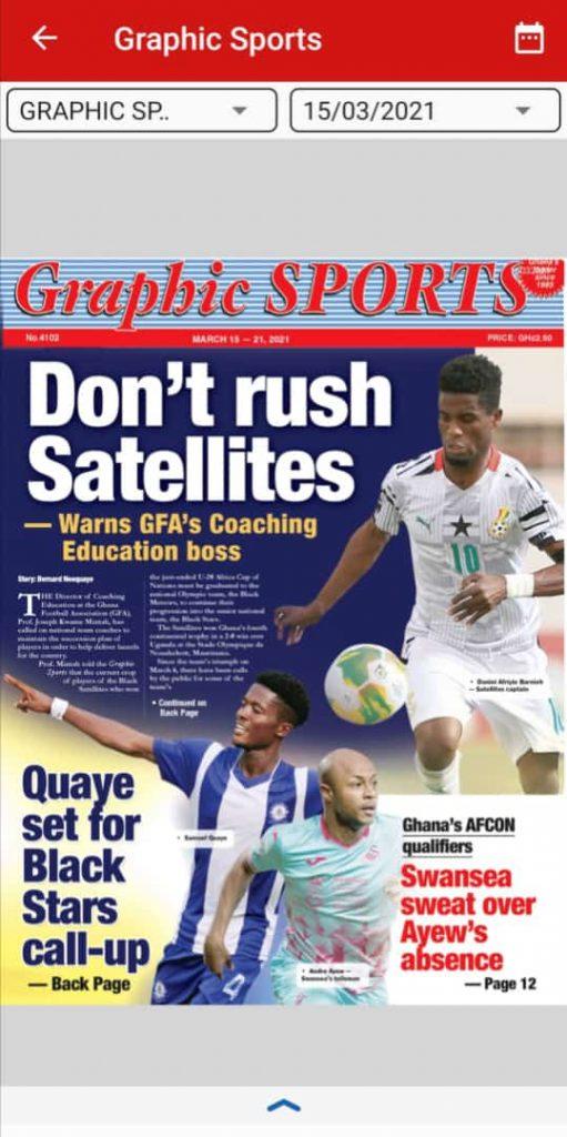 Newspaper Headlines of Monday, March 15, 2021 101