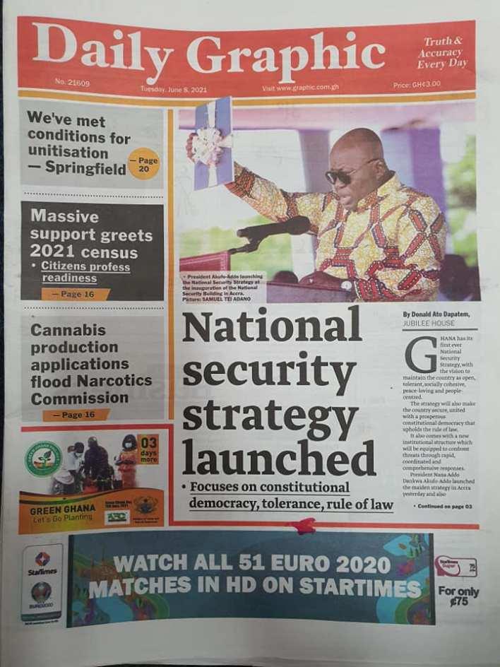Newspaper Headlines Of Today June 8th 2021 2