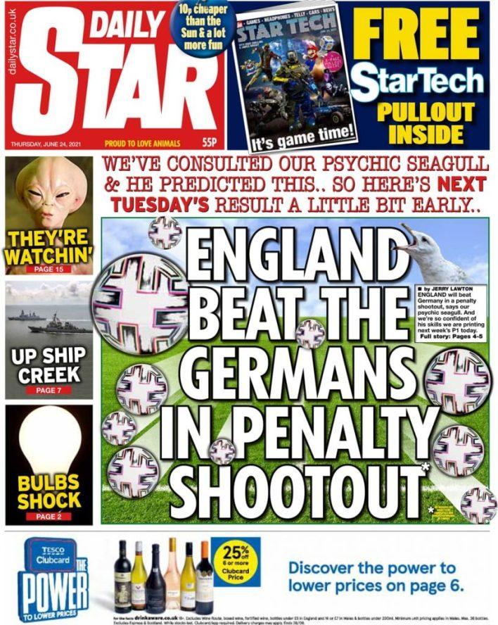 Newspaper headlines of Friday, June 25, 2021 16