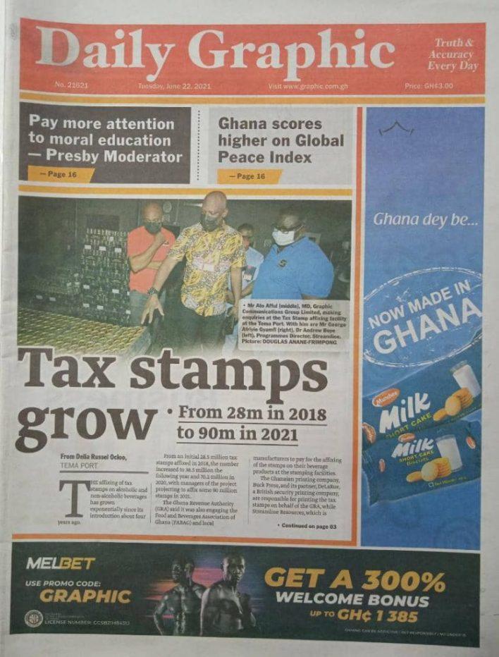 Newspaper headlines of Tuesday, June 22, 2021 5