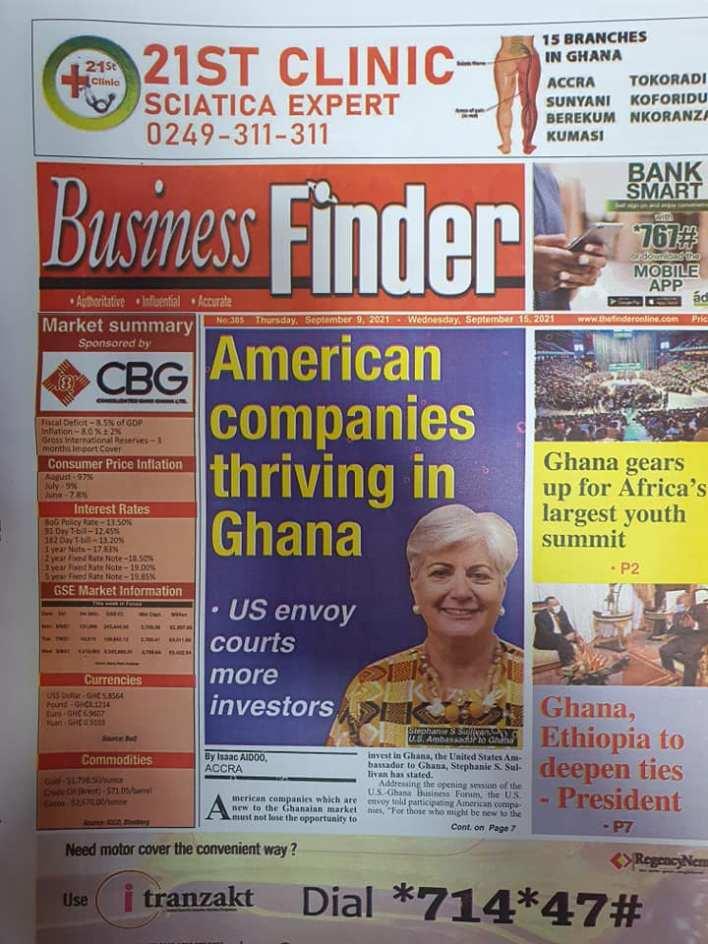 Newspaper Headline Of Thursday, September 9, 2021 12