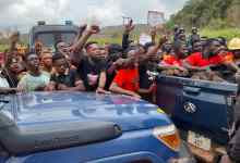 Photo of A/R: 23 Amansie South Communities demonstrate against 'cheating' Asanko Gold Mines