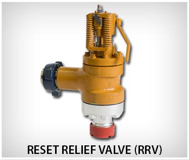Oteco Reset Relief Valve