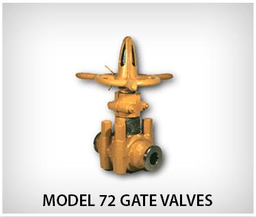 Oteco Model 72 Gate Valves