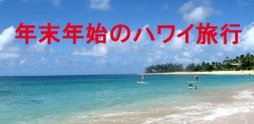 年末年始 ハワイ 格安で行く方法