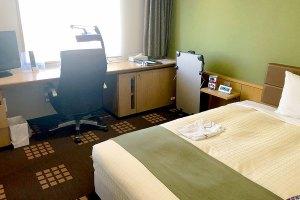 立川ワシントンホテルの部屋