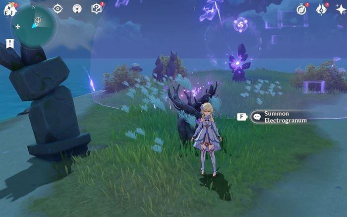 35 Electroculus требуют Memento Lens из квеста жертвенного подношения, чтобы вызвать громовую ветвь сакуры в игре