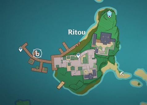 Место рыбалки в Риту