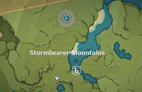 Место для рыбалки в Горах Громоносцев