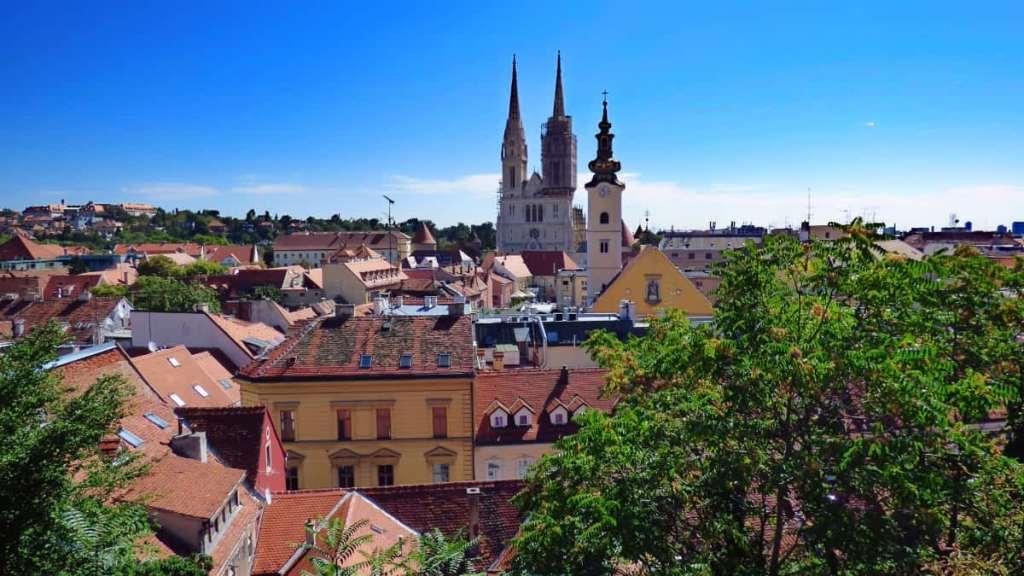 The city of Zagreb, Croatia's capital