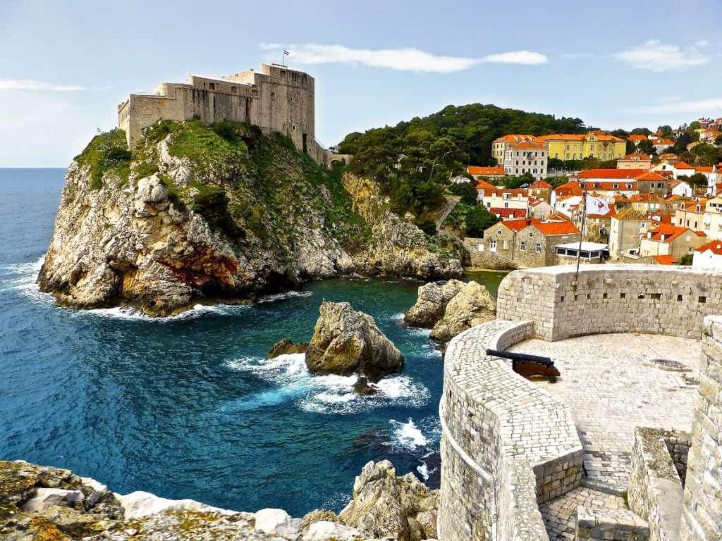 Game of Thrones filming locations in Croatia - Dubrovnik as King's Landing
